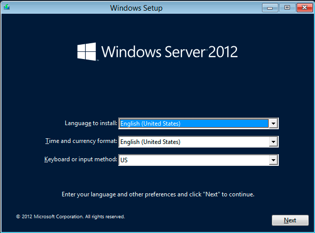 Windows Server 2012 Automated Install Settings - Mischa Taylor's