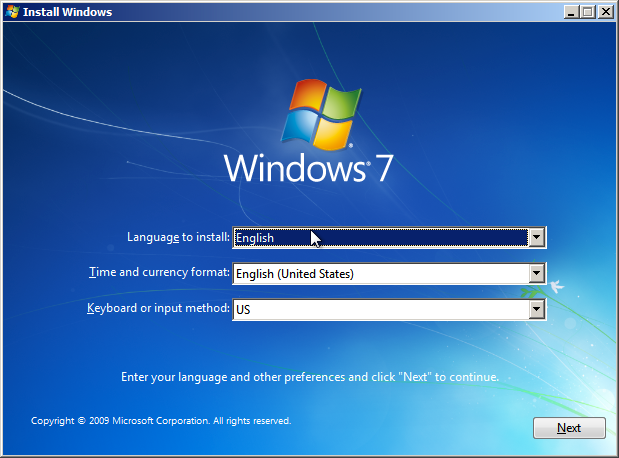 Windows 7 Automated Install Settings - Mischa Taylor's